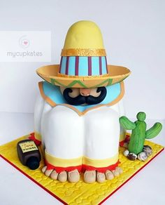 Mexican theme cake  Cake by MyCupKates