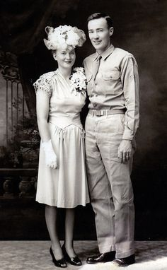 "Bernice Weitzel Whiston and Edmund ""Red"" Whiston"