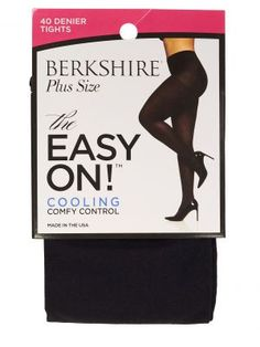 55e8c9f6f3b Berkshire The Easy On! 40 Denier Plus Size Tights