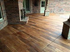 Stamped Concrete U0026 Resurfacing | Omaha   Lincoln NE. Concrete WoodConcrete  PatiosDecorative ...
