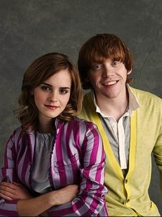 Emma Watson and Rupert Grint for Entertainment Weekly (by Chris Craymer)