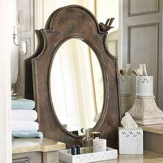 Wood Birdsong Mirror by Ballard Designs