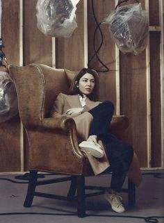 Sofia Coppola is photographed by Craig McDean and styled by Karl Templer for Interview Magazine Sofia Coppola Style, Gia Coppola, Craig Mcdean, Templer, Sarah Harris, Too Cool For School, Film Director, Style Icons, Editorial Fashion