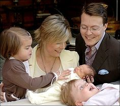 Countess Leonore to Prince Constantijn and Princess Laurentien of the Netherlands (2006)