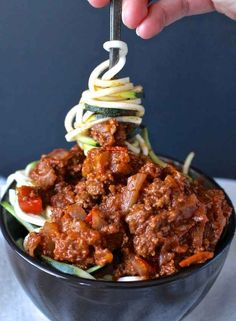 Zucchini Noodle Sloppy Joes                                                                                                                                                                                 More