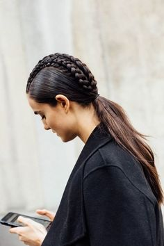 Thanks to the creative minds on Pinterest, we have some great hairspiration. Braids aren't only good for keeping hair out of your face on a hot day, but they can elevate any outfit on the beach or in the boardroom.
