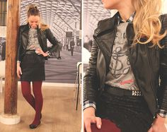 Burgundy Touch (by Priscila My Showroom) http://lookbook.nu/look/4368614-Burgundy-Touch
