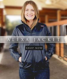 The Alexa Jacket is perfect for those chilly, windy or rainy days. The elegant jacket with European flags and a beautiful Horze Equestrian logo on the back of the collar is the perfect choice for when you need that extra layer. European Flags, Rainy Days, Be Perfect, Equestrian, Shop Now, That Look, Bomber Jacket, Collections, Logo