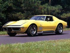 1969 Chevrolet Corvette ZL-1 - All aluminum L88 Special Turbo Jet 427 engine was only put into 3 corvettes