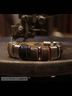 Casual heren armband