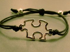 Puzzle Piece Charm Bracelet Puzzle Piece Charm by CraftsbyBrittany, $5.00