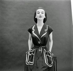"""eva_k2 - Коллекция модной женской одежды """"Гермес"""" (1952 г.)"""