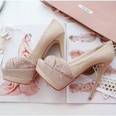 Free shipping Sexy Rhinestone Peep-toe Pumps Ultra High heeled Platform Stiletto Party Wedding Shoes QB82