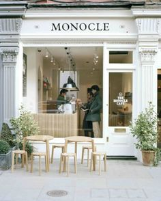 monocle cafe, london.