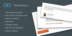 AB Testimonial WordPress Plugin v1.0.1