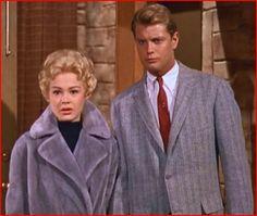 Troy Donahue and Sandra Dee