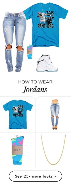 """Untitled #271"" by destinygotem on Polyvore featuring Retrò, HUF, women's clothing, women, female, woman, misses and juniors"