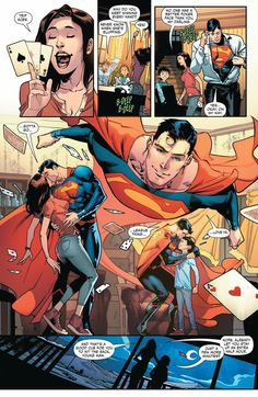 Its time for the Super team-up you've all been waiting for: the sons of Batman and Superman have graduated to their own monthly comic! Tomasi and artist Jorge Jimenez introduce you to Mundo Superman, Superman And Lois Lane, Batman Vs Superman, Superman Facts, Superhero Family, Superman Family, Superhero City, Comics Und Cartoons, Action Comics 1