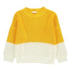 Pull Bicolore Hundred Pieces Adolescent Enfant- Large choix de Mode sur Smallable, le Family Concept Store - Plus de 600 marques.