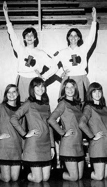 1960s High School Cheerleaders