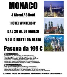 Pasqua a Monaco Voli da Olbia