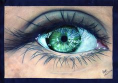"""The eye is the window to the soul, saying what often is left unsaid. The following song from Tobymac describes it quite well.I am very interested in the human eye, so lately I try and draw eyes to show the different emotions, hurt, sadness, joy etc.TOBYMAC LYRICS""""Eye On It""""Eye on it, eye on itEye on it, eye on itEye on itEye on itEye on it, eye on itI set my eyes to the west, walkin' away from it allReachin' for what lies ahead, I got my eye on itI see my sweat hit the groundI put my foot…"""
