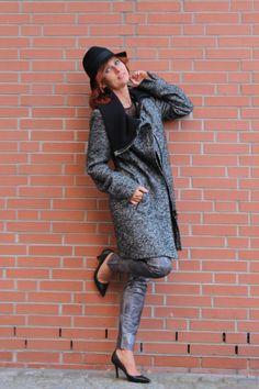 Damen Wintermantel mit großen Kragen von Baronia Classic