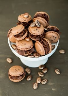 Perfect Cookie Recipes – 20 Baking Tips To Make The Best Cookies Ever - New ideas Easy Cookie Recipes, Easy Desserts, Cake Recipes, Dessert Recipes, Coffee Macaron, Coffee Cake, Dessert Simple, New Cake, Perfect Cookie