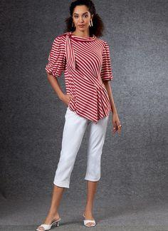 V1805   Misses' Tops & Pants   Vogue Patterns