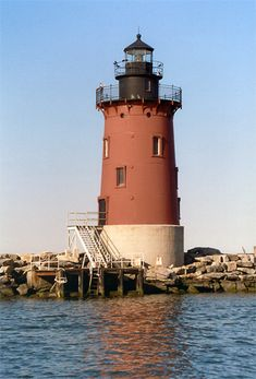 Delaware Breakwater Lighthouse. Find more to do in Delaware at www.discoveramerica.com.