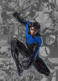 Nightwing my favorite hero!!