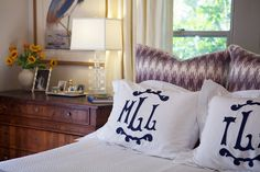 Side table with art low .. La Dolce Vita: My Favorite Room: Meg Lonergan of LeSueur Interiors