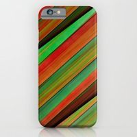 Today - Free Worldwide Shipping + 20% Off Phone Cases, Laptop Sleeves and All Tech Gear!  iPhone & iPod Case featuring Colored stripes background no. 2 by Christine baessler