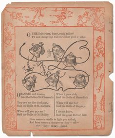 Antique & Mysterious Mother Goose Nursery Rhymes - Page 11 of 33 - mothergoose.com
