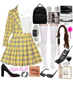Clueless Fashion, Clueless Outfits, Tv Show Outfits, Fashion Tv, Kpop Fashion Outfits, Look Fashion, Retro Outfits, Simple Outfits, Casual Outfits