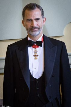 Despite having his winning royal status, King Felipe VI of Spain only came in seventh place