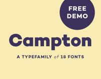 Free Demo of Campton typeface