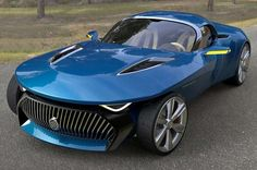 The Buick Wildcat concept, a rather futuristic design, influenced from the 1954 Buick Wildcat II concept and the BMW z4.