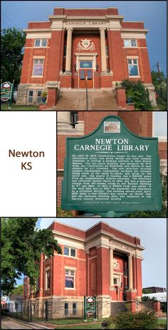 This building now houses the Harvey County Historical Museum, which is a great use. It is well preserved. FACTS: Newton, Kansas (Harvey County) Built: 1903; Grant: $16,000; GPS: Latitude: 38.044161 ; Longitude: 97.345382