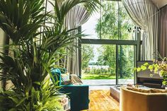 Pin for Later: So This Is What a House Designed by Kate Moss Looks Like — Sold! The Views Scenic views provide guests with a relaxing vibe.