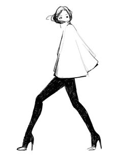 My Cape by @garancedore I need this for my art print collection!