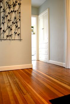a home in the making: {renovate} refinish your own hardwood floors