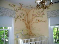 A luxury beatrix potter roomset designed by dragons of for Beatrix potter wall mural