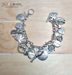 charm bracelet-make your own charm bracelet-silver charm bracelet-pick your charms bracelet-charm bracelets-silver charm bracelet