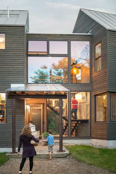 Love everything about this transformation!  Transitional  by Caleb Johnson Architects + Builders