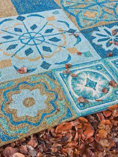 Designer Teppich Papilio Namada