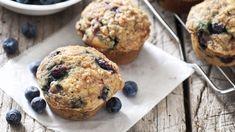 Blueberry muffins   FOOD AND WINE Blueberry Quinoa Muffins, Vegan Muffins, Blue Berry Muffins, 21 Day Fix Breakfast, Breakfast Recipes, Breakfast Ideas, Fixate Recipes, Muffin Recipes, Yummy Recipes