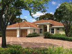 santa fe style | Fantastic Santa Fe Style House Plans