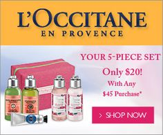 The Beauty Pirate: Mother's Day Deals At L'occitane