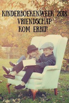Kinderboekenweek 2018 Vriendschap Kom erbij! Spelling, Teaching, Books, Kids, Livros, Children, Boys, Livres, Learning